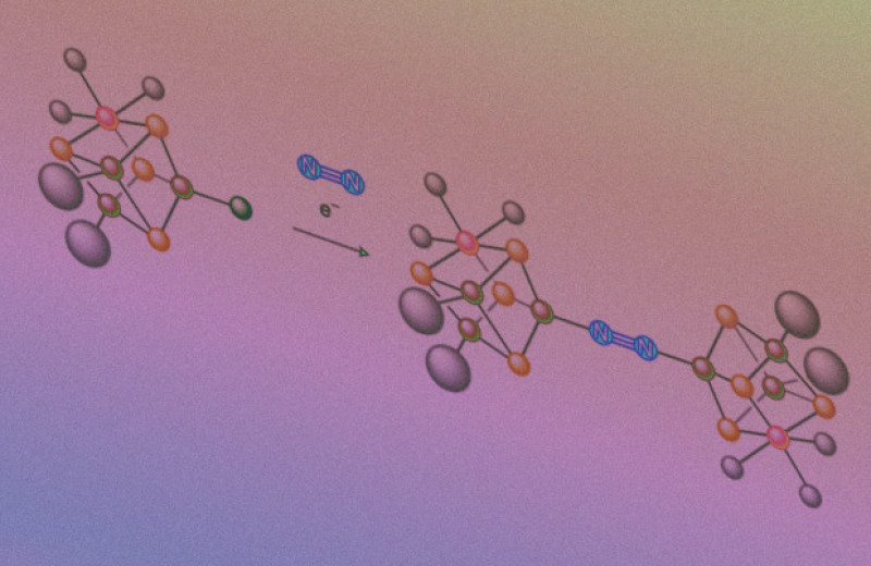 Искусственный сульфидный кластер подготовил молекулу азота к восстановлению