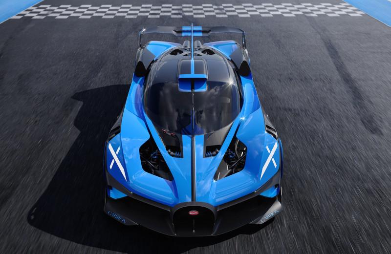 Bugatti сделала 1850-сильный гиперкар Bolide