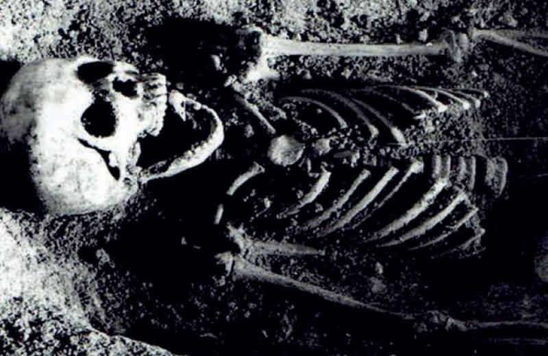 Польские археологи обнаружили пещерное захоронение девочки с головами зябликов во рту