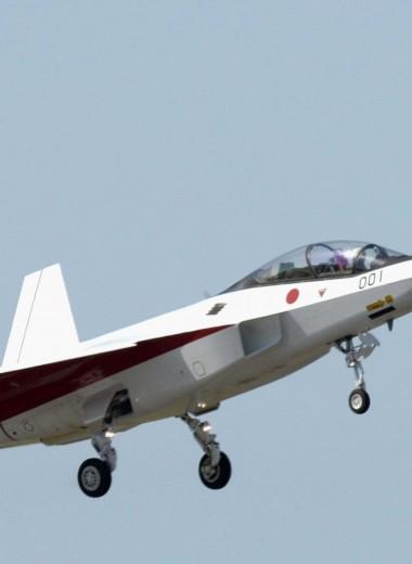 Невидимка с искусственным интеллектом: истребитель Mitsubishi X-2