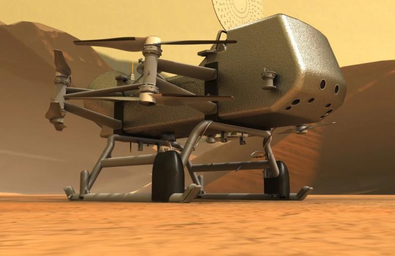 На Титан отправят вертолет Dragonfly. Рассказываем, что он будет там делать