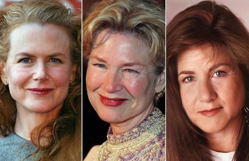 Пластический хирург показала, как старели бы знаменитости, будь они простыми людьми