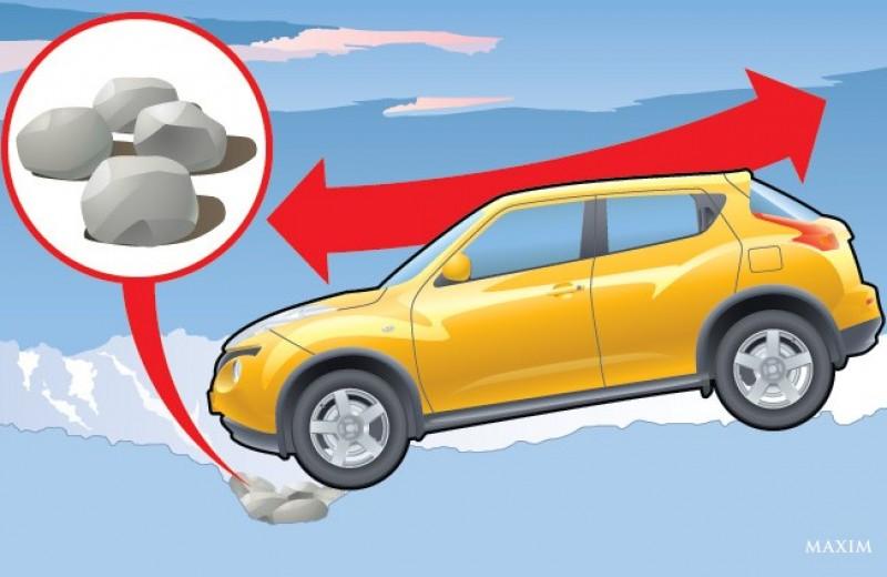 7 способов вытащить застрявший автомобиль