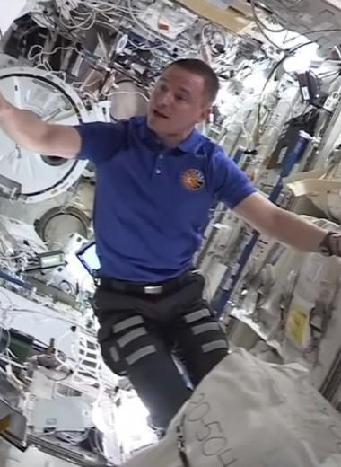 МКС глазами астронавтов: видео-экскурсия по главной орбитальной станции Земли