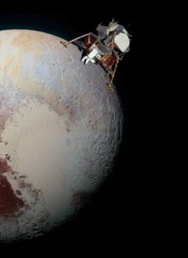 Почему «Хаббл» видит Плутон, но не видит «Аполлон»?