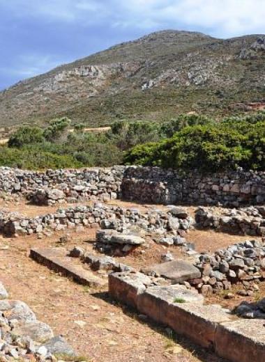 Оливковые и виноградные косточки рассказали о специализации хозяйства у минойцев