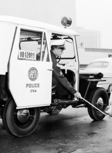 Белая метка: зачем американская полиция маркирует колеса авто мелом