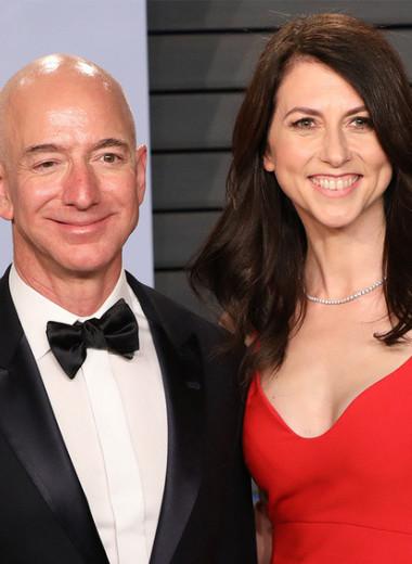 Черепаха и заяц: сколько на самом деле дают на благотворительность экс-супруги Джефф Безос и Скотт Маккензи