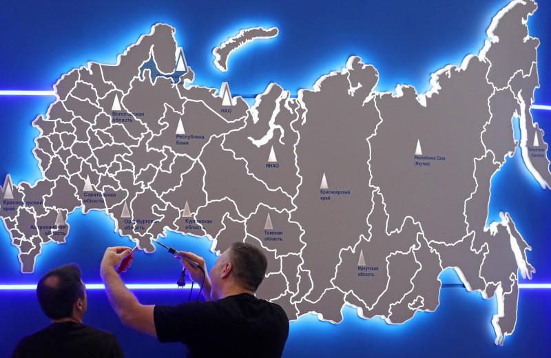 Карта российского бизнеса. Где прописаны крупнейшие российские компании