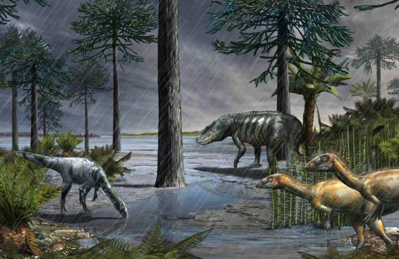 Событие, приведшее к гегемонии динозавров, оказалось сравнимо с мел-палеогеновым вымиранием