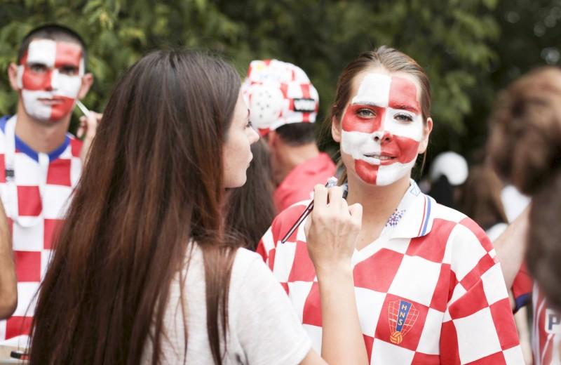Каким был последний день чемпионата мира по футболу. Фоторепортаж