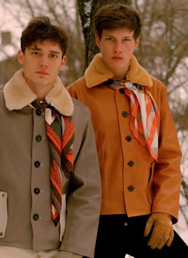 Новая модная марка: одежда для романтичных мужчин Linder