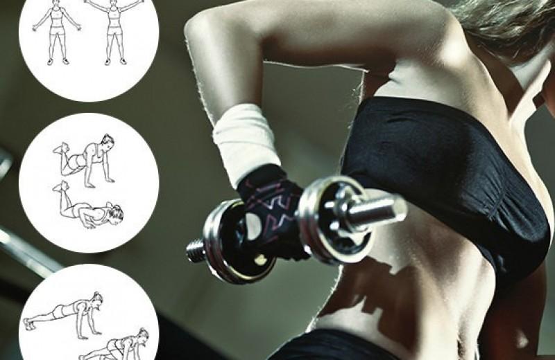 Тренировка рук в тренажёрном зале: 5 лучших упражнений