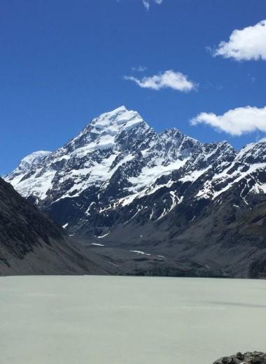 Ледники в Новой Зеландии потеряли до 77% объема за 400 лет