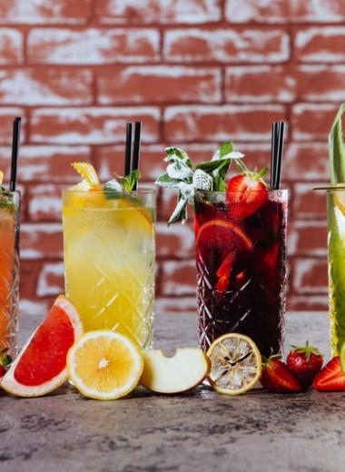 Лучшие освежающие коктейли для лета