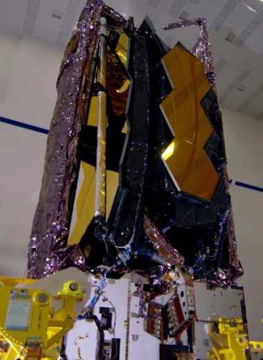 В NASA объявили дату запуска телескопа Джеймса Уэбба