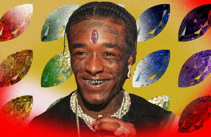 Lil Uzi Vert теперь ходит с бриллиантом во лбу. Стоп, как он это сделал?