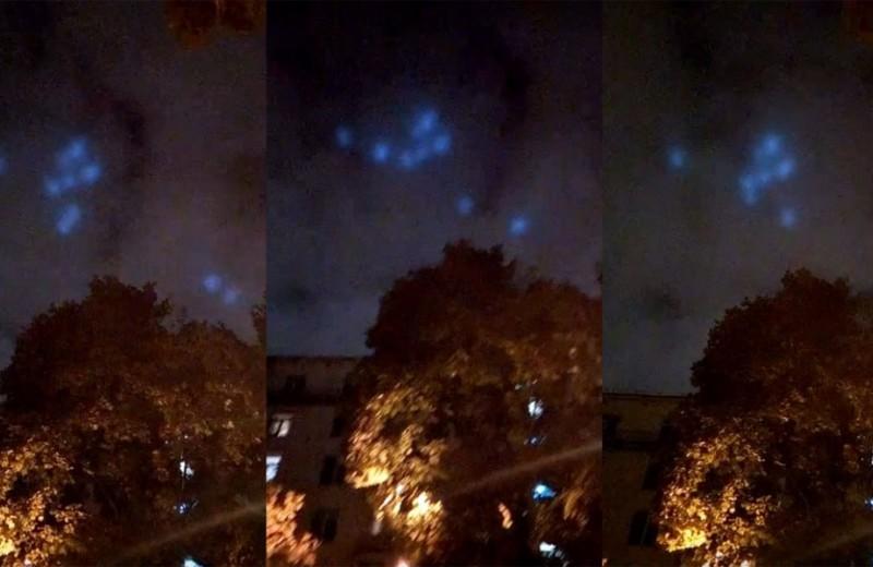 Танцующие синие огни над Москвой: разгадка