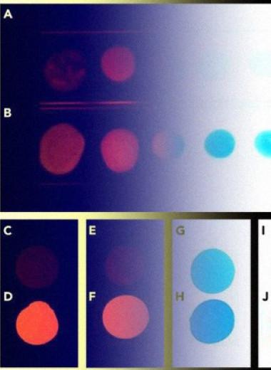 Химики заставили люминесцентные красители светиться в твердом виде