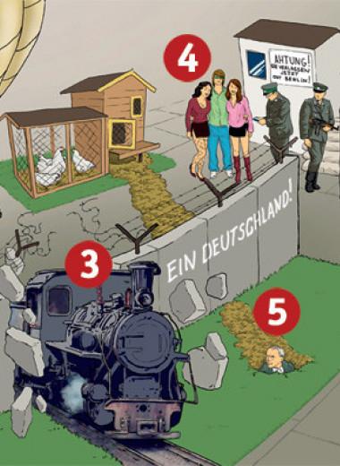 Наука побежать. 5 уникальных побегов через Берлинскую стену