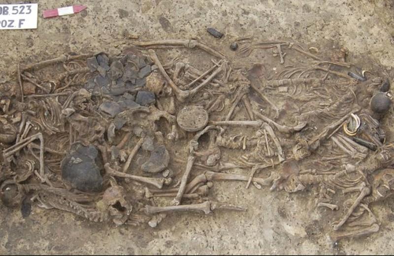 Тайна массового захоронения бронзового века раскрыта