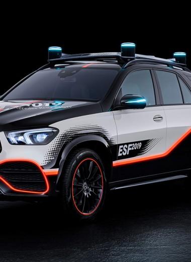 Машина, которая не боится аварий: необычный Mercedes в деталях