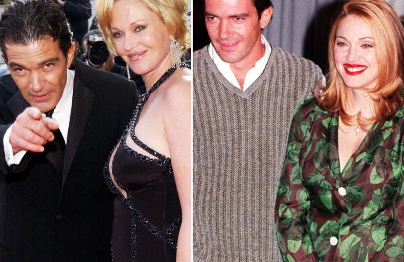 Герой-любовник! Главные женщины Антонио Бандераса - от Мадонны до Мелани Гриффит