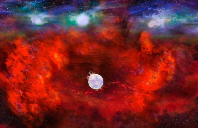 В Большом Магеллановом облаке нашли затерянную нейтронную звезду