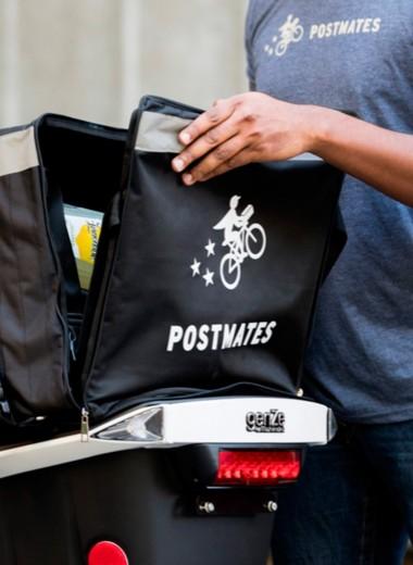 Стартап, очаровавший Голливуд: как сервис доставки Postmates конкурирует с Uber Eats за долю на рынке с помощью звезд