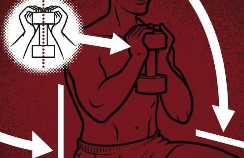 6 упражнений в зале, для которых точно не нужен тренер
