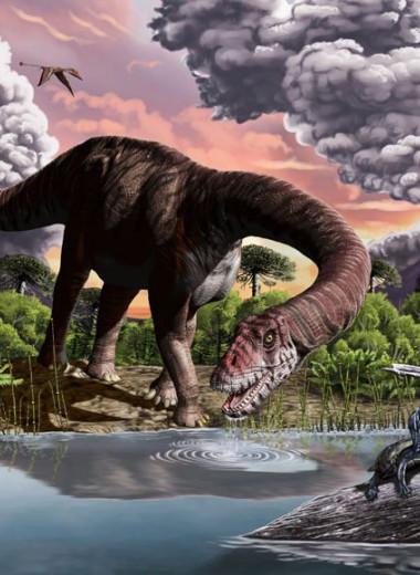 Как крупные длинношеие динозавры стали править среди травоядных юрского периода