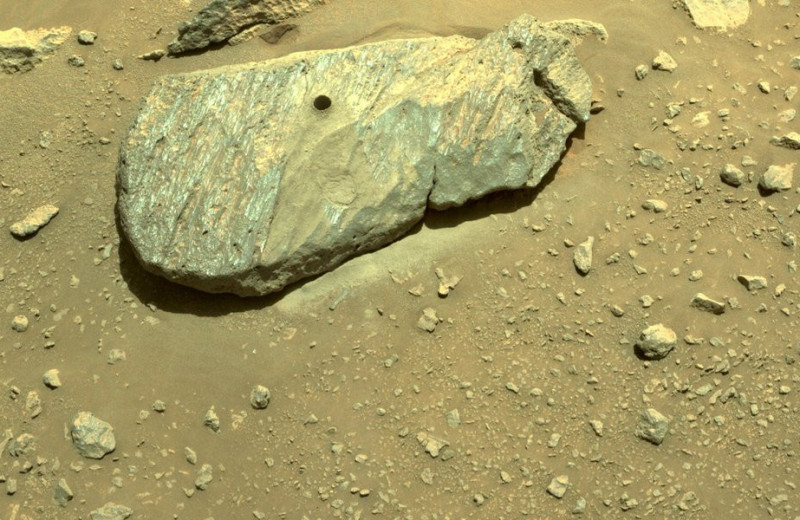 Perseverance успешно взял образцы марсианской породы