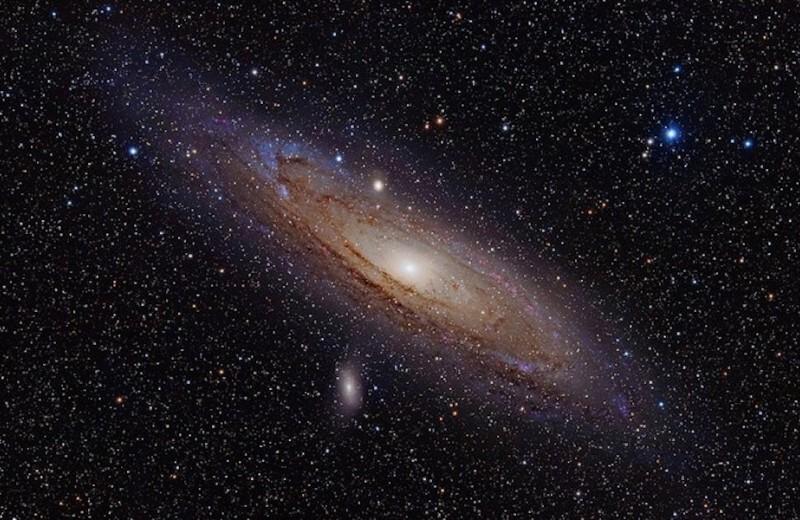В прошлом Андромеды обнаружили следы древней катастрофы