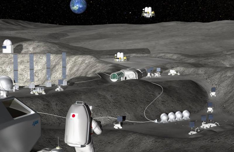 На Луне запустят прыгающий транспортёр, питаемый водой со спутника