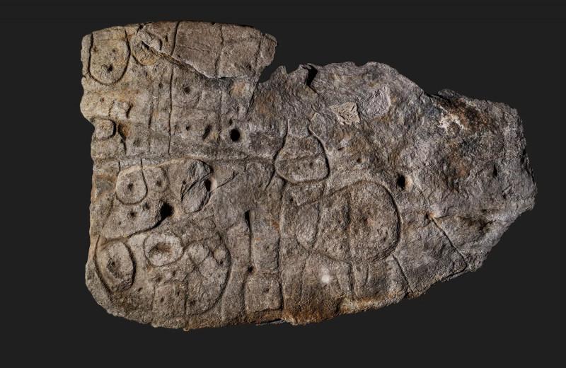 Забытая каменная плита оказалась старейшей картой в Европе