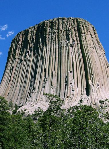 Башня Дьявола: первый национальный памятник США