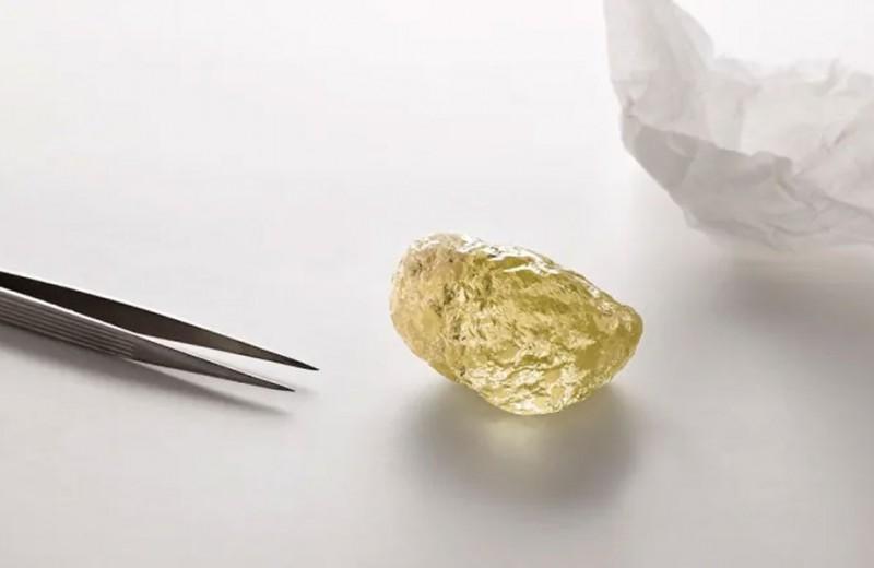 Гигантский желтый алмаз – неожиданная находка в Канаде