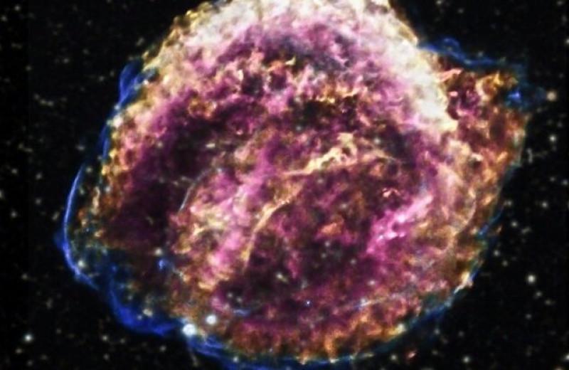 Космический взрыв, который не останавливается 400 лет