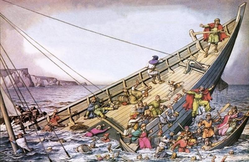 «Титаник» XII века: кораблекрушение, изменившее историю