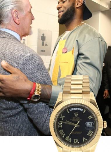 Леброн Джеймс – владелец роскошной коллекции часов