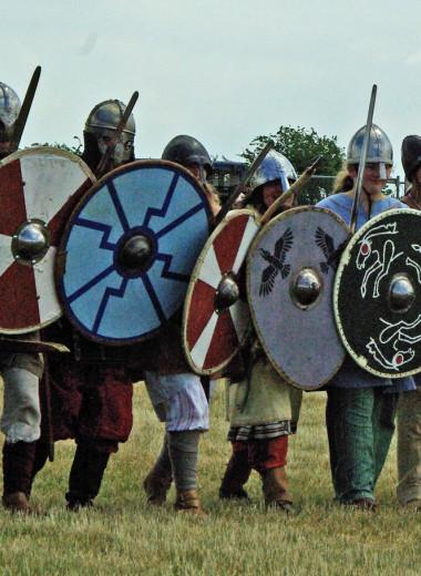 «Стена щитов» викингов в битвах оказалась мифом
