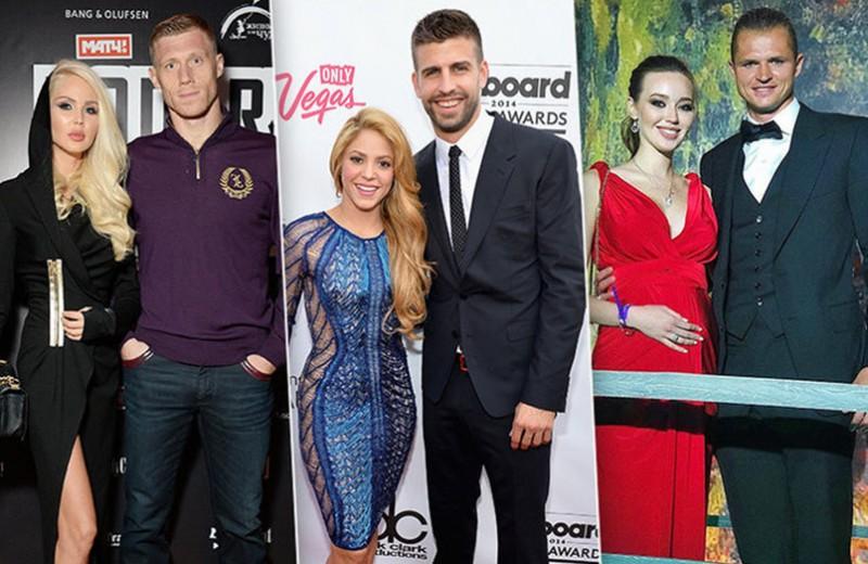 От Шакиры до Костенко: самые сексуальные жены футболистов