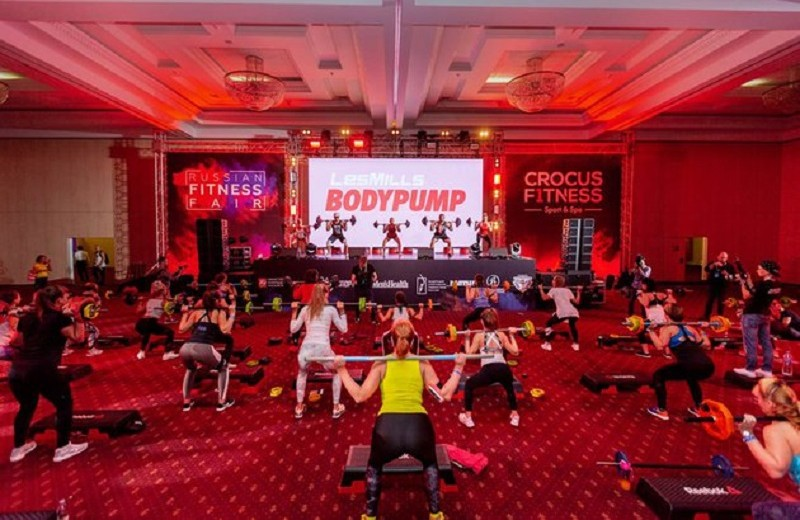 Международный фестиваль фитнеса Russian Fitness Fair 2018