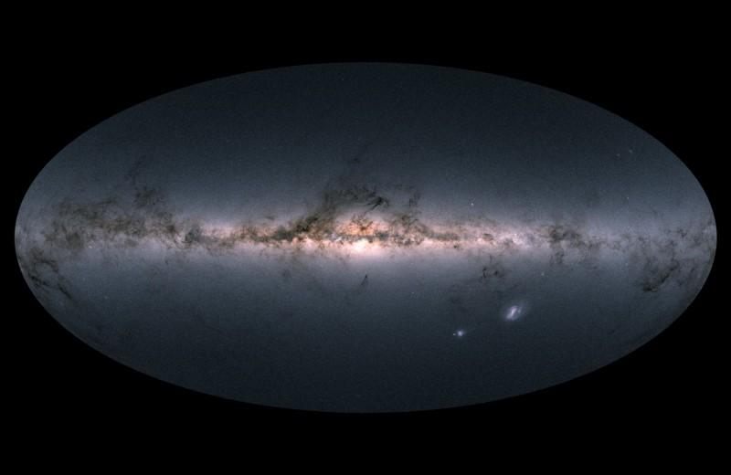 Создана самая подробная карта Млечного Пути