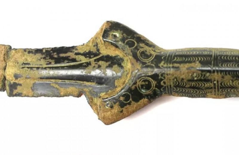 Грибник из Чехии нашел в лесу меч бронзового века