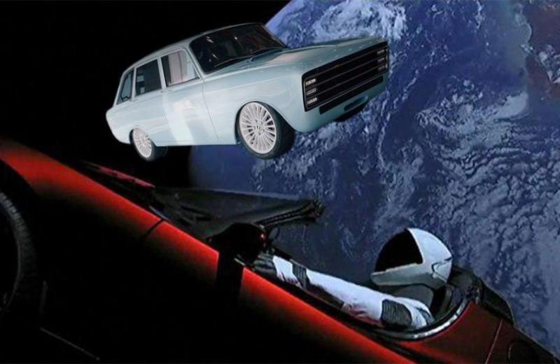 «Калашников» представил электрокар, сравнив его с Tesla. В сети посмеялись