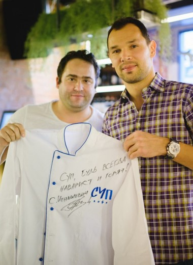 Ланч от Игнашевича: как тренер «Торпедо» и совладелец сети «Кофепорт» зарабатывают миллионы на супе