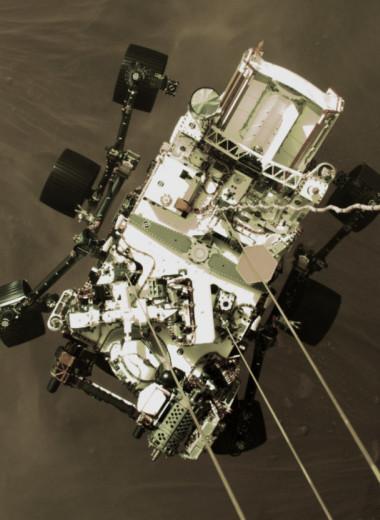 Perseverance прислал снимки посадки на Марс в высоком разрешении