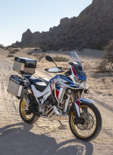 Представлено новое поколение Honda Africa Twin