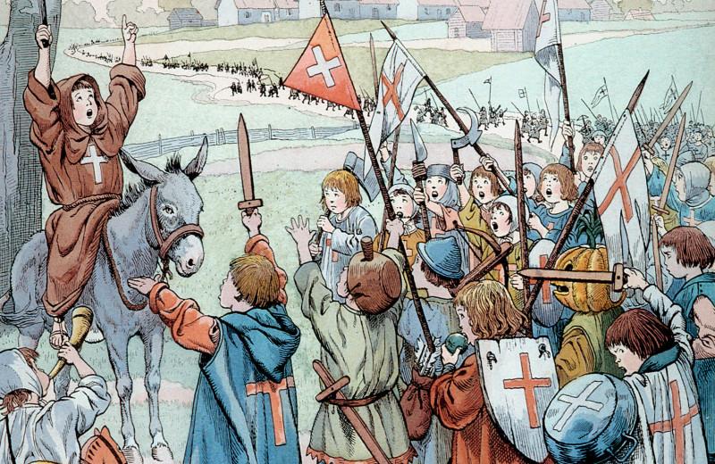 Море не разошлось: как детский крестовый поход закончился трагедией